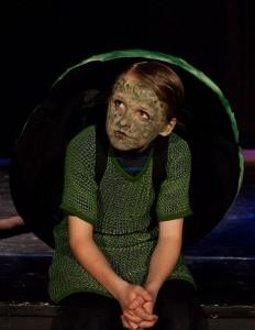 Jakub som skilpade i Alice in Wonderland - Kopi
