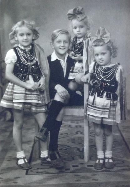 Ela, Waldek, Hania i Bożenka